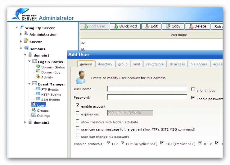 Wing FTP Server Corporate 6.5.0 With Crack Latest