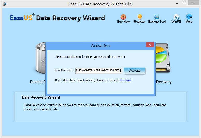 EaseUS Data Recovery Wizard 13.7 Crack + License Code Free