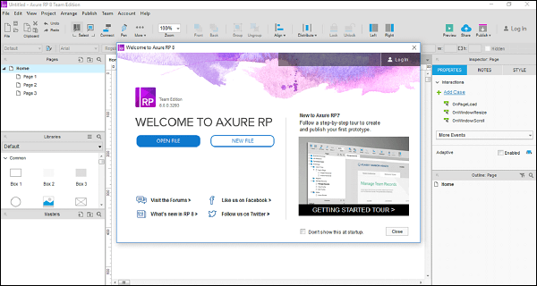 Axure RP Pro 9.0.0.3727 Crack + Free Serial Key 2021